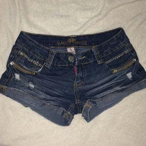 Jean short shorts